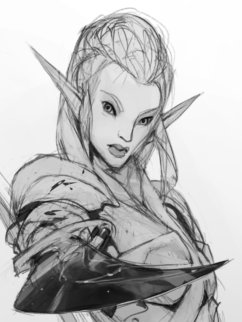 Elf illustration